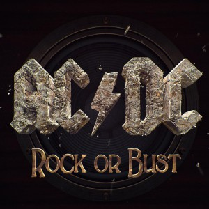 "Capa do novo álbum do AC/DC. ""Rock or Bust""."