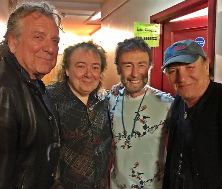 Brian Johnson, Robert Plant, Paul Rodgers