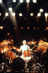 Chris Slade com AC/DC em 1990