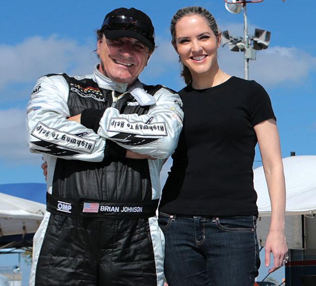 Brian Johnson e Loise Mensch