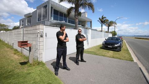 Casa de Phil Rudd em Tauranga. NZ. Nov/2014.
