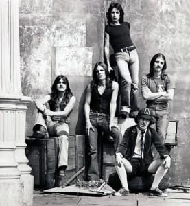 AC/DC em 1980, Pinewood Studios, Inglaterra