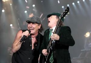 Brian e Angus. Black Ice Tour. 2008 - 2010