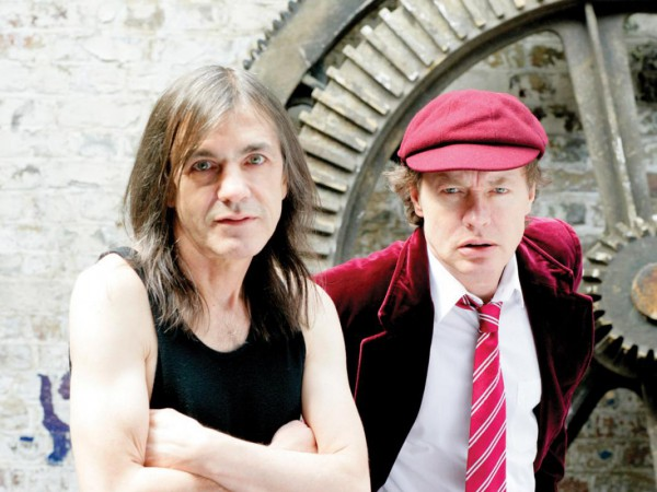 Angus e Malcolm Young. Black Ice. 2008