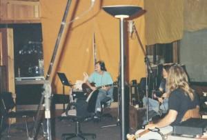 """Sessão de gravação do álbum """"Ballbreaker"""""""