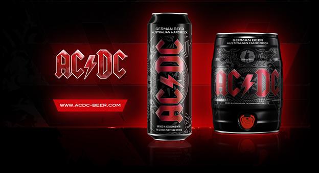 Cerveja do AC/DC será lançada no Brasil