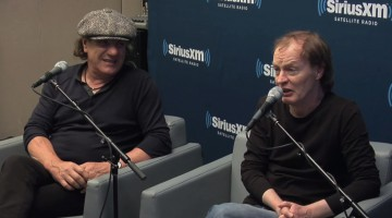 AC/DC - Brian Johnson e Angus Young. 2014.