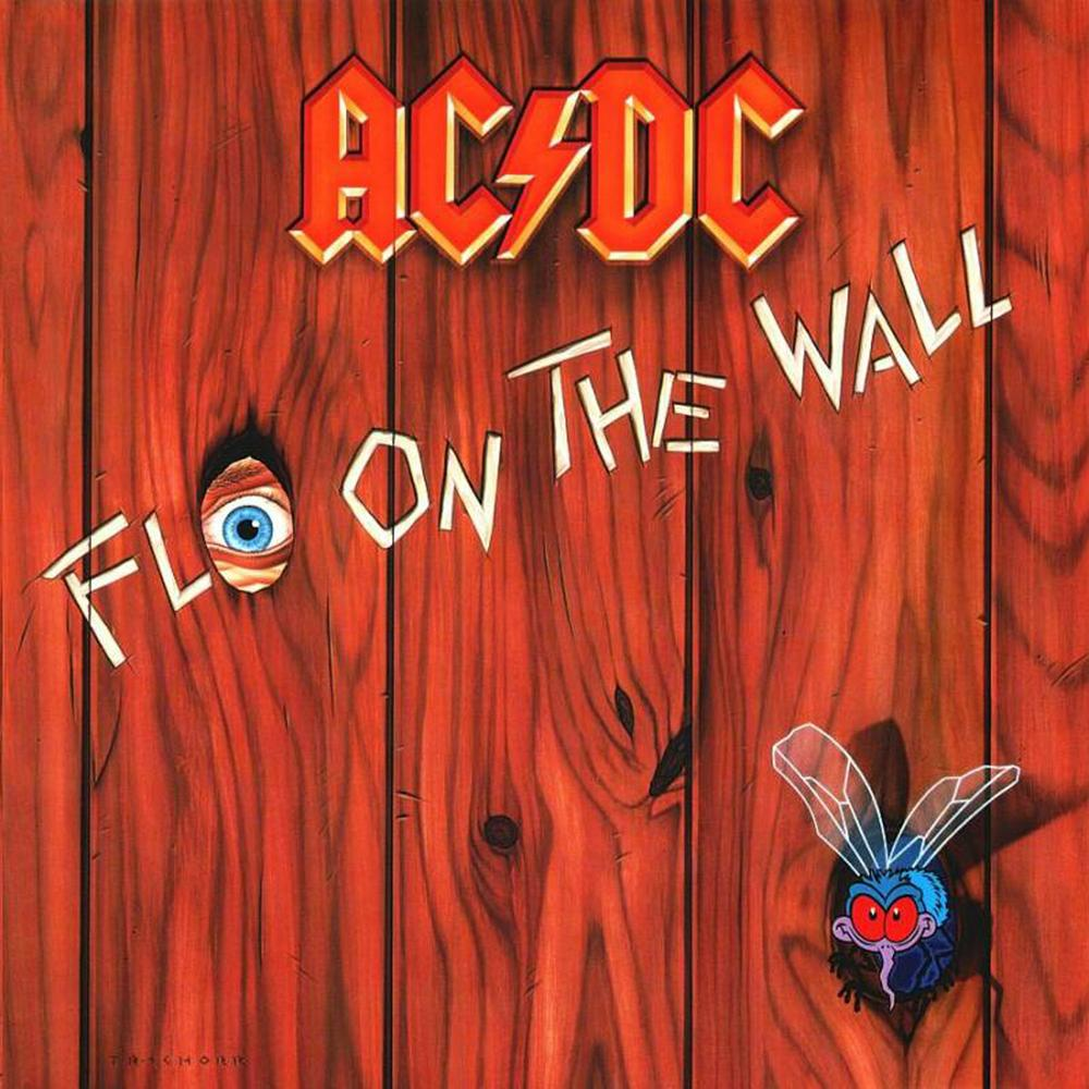 AC/DC Capa Álbum Fly On The Wall 1985