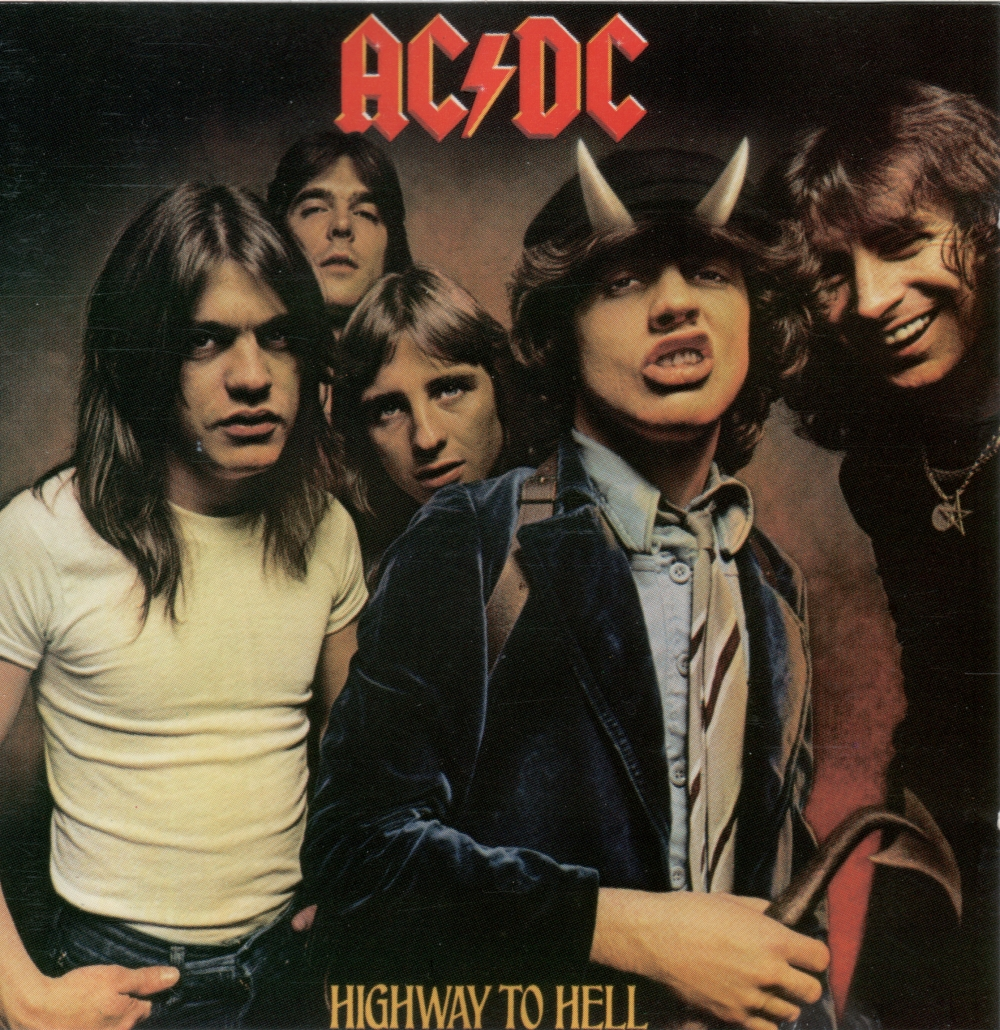 AC/DC Capa Highway to Hell