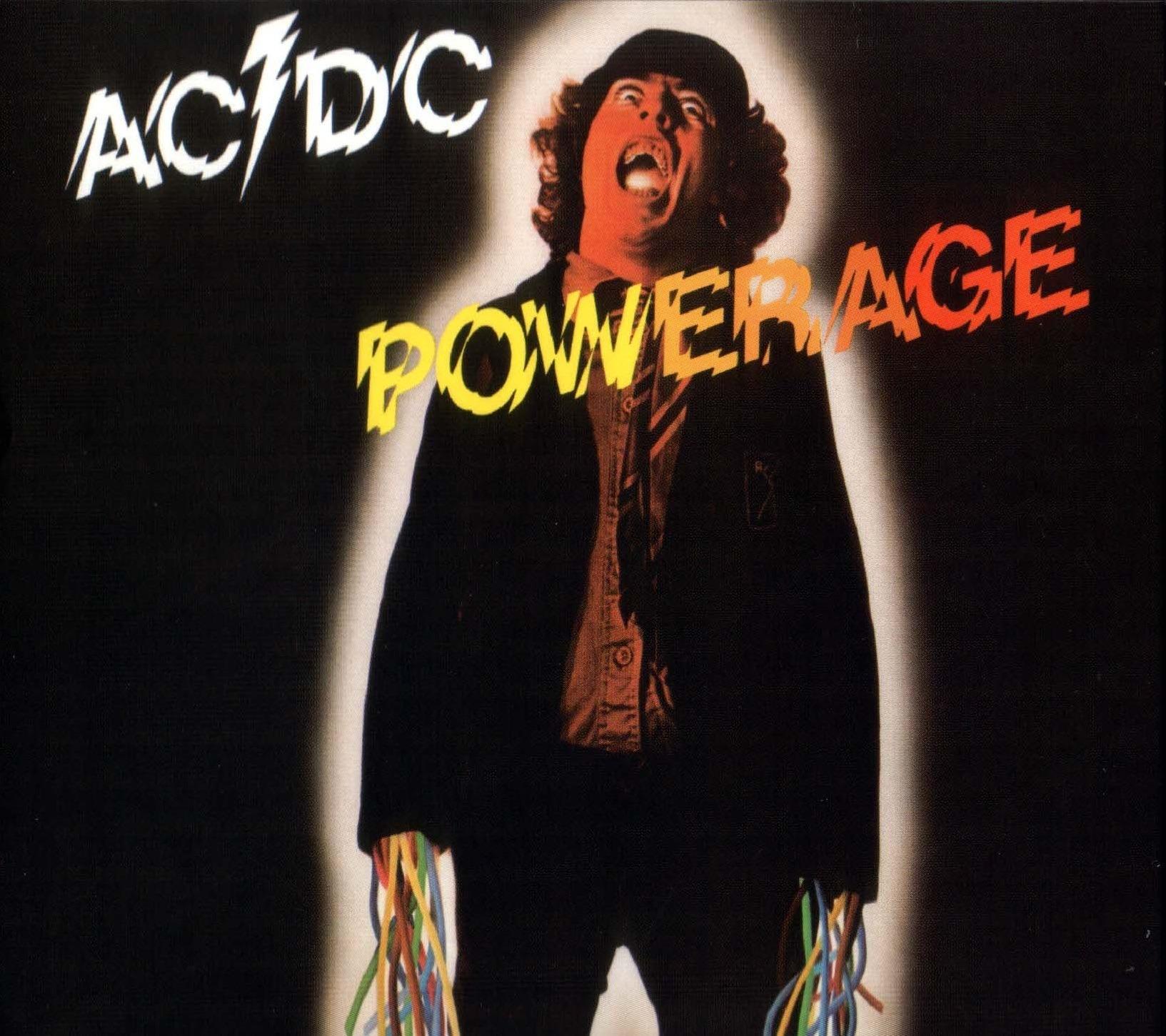 Capa AC/DC Powerage 1978