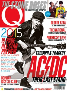 Capa da Revista 'Q Magazine'. Edição Q343.