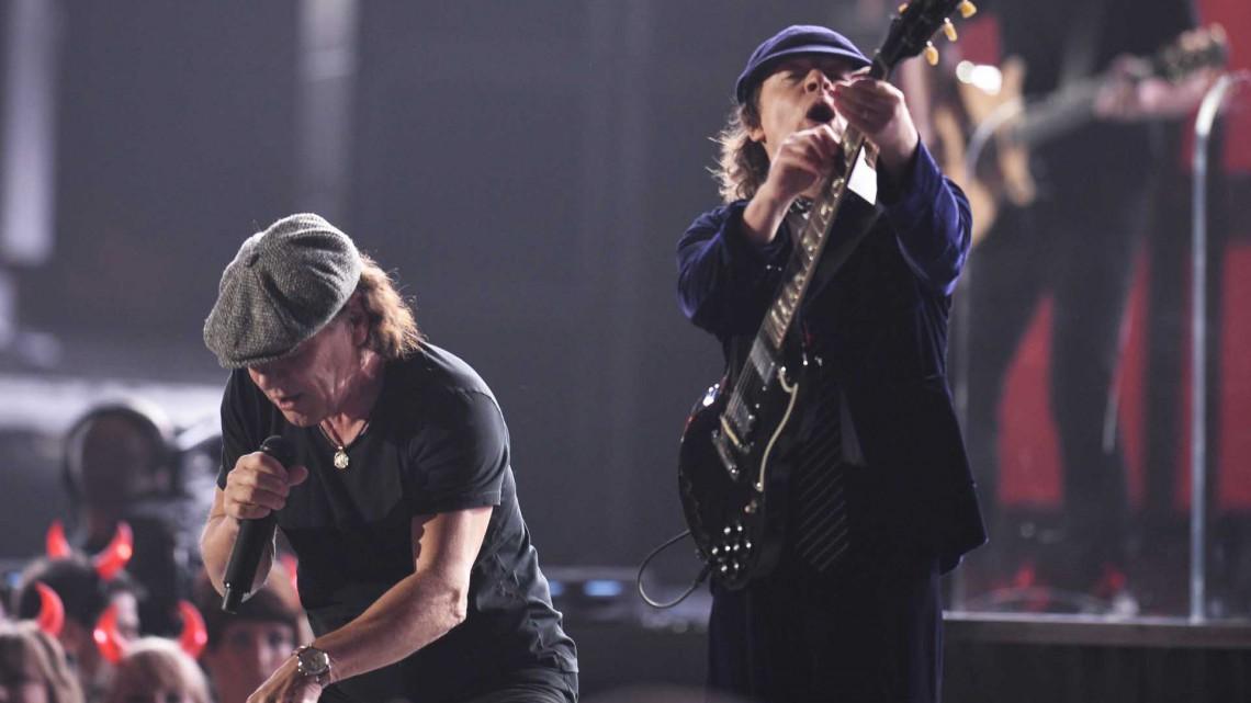 AC/DC no Grammy 2015.