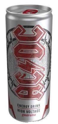 High Voltage: AC/DC lança sua própria bebida energética