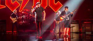 Foto de um novo clipe do AC/DC. Compartilhada no site oficial da banda no dia 18 de setembro de 2020.