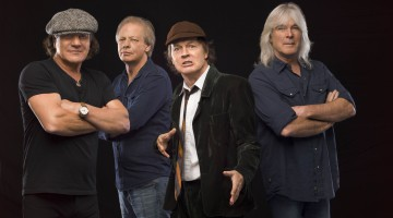Foto promocional AC/DC. Rock or Bust Tour.