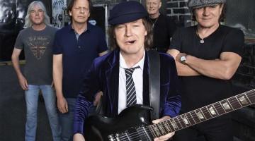 """AC/DC. Nova formação para a turnê """"Rock or Bust""""."""