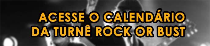 """Calendário completo da turnê """"Rock or Bust"""" do AC/DC"""