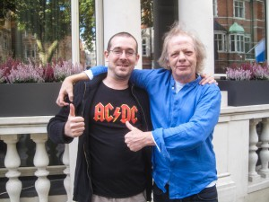 Vincent Alexandre and Stevie Young . London/2014