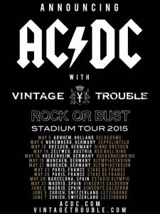 Vintage Trouble. AC/DC. 2015.