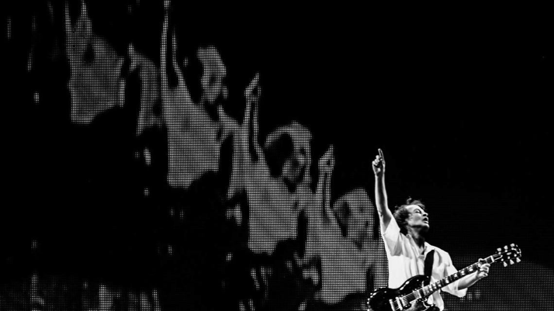 Angus Young. 2016. Foto de Kat Benzova
