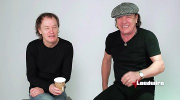 AC/DC. Brian Johnson e Angus Young. 2014.