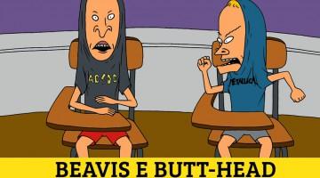 Ballbreaker Tour - AC/DC. Beavis e Butt-Head. 1996.