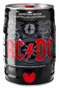 Barril Cerveja AC/DC 5 Litros