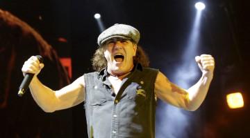 Brian Johnson - AC/DC - 2014 - Confirma gravação