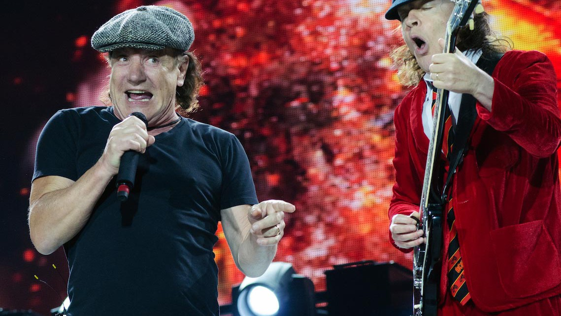 Brian Johnson, Angus Young - AC/DC
