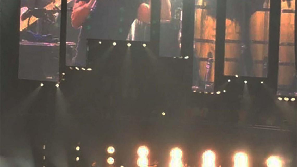 Brian Johnson e Billy Joel dezembro de 2014