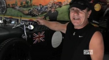 Brian Johnson para a TV Spin