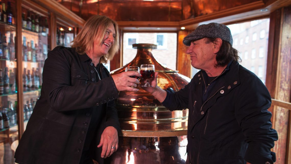 Brian Johnson e Joe Elliott