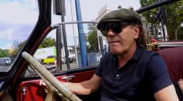 Brian Johnson. Novo Programa Sky Arts.