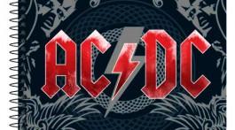 Caderno AC/DC. Tilibra.