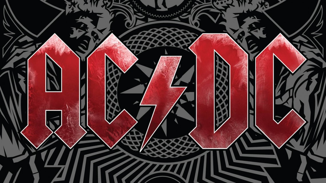 "AC/DC. Capa do álbum ""Black Ice"". 2008."