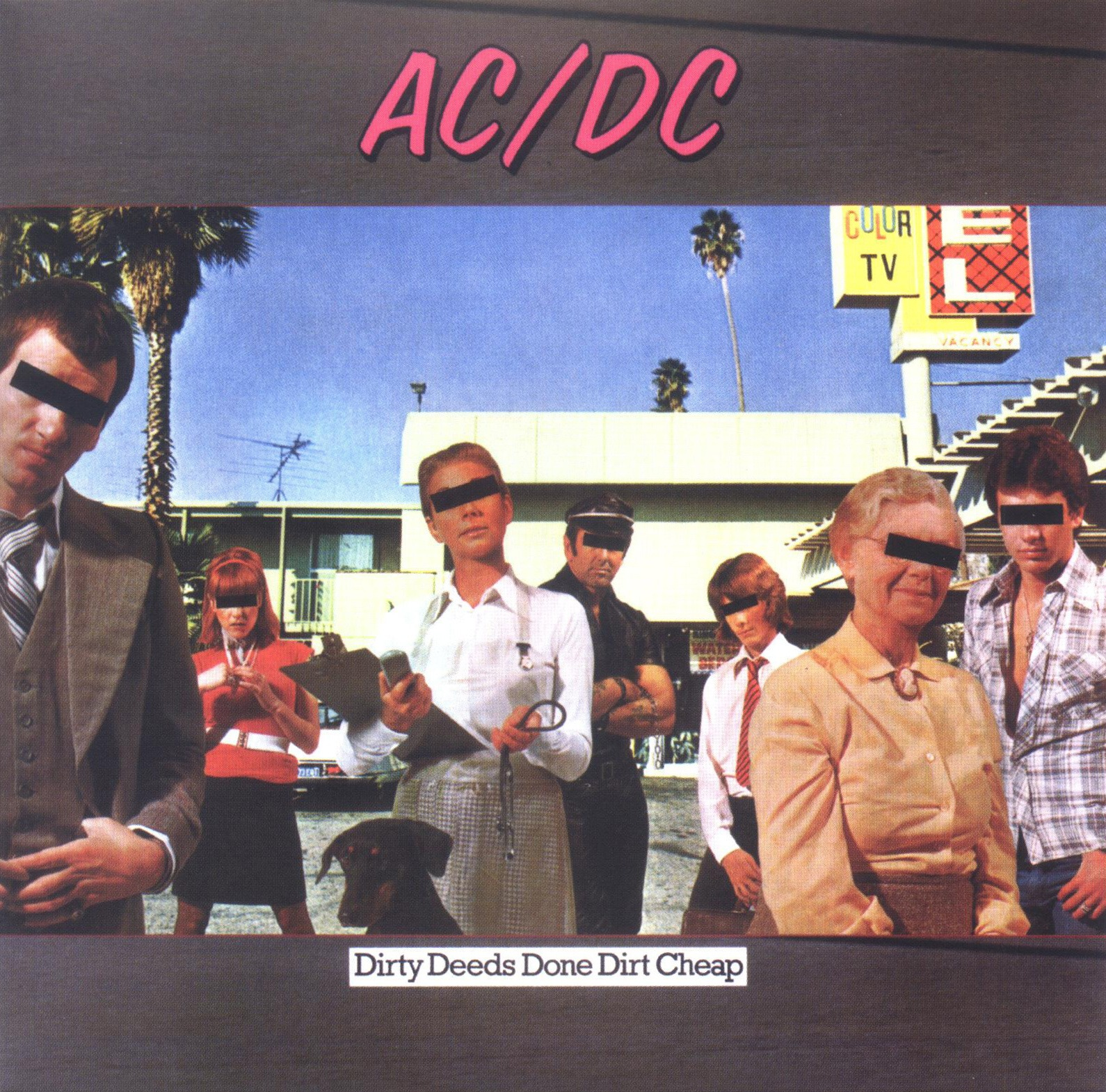 Álbum AC/DC Dirty Deeds Done Dirt Cheap (Internacional)