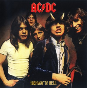Capa AC/DC - Highway to Hell