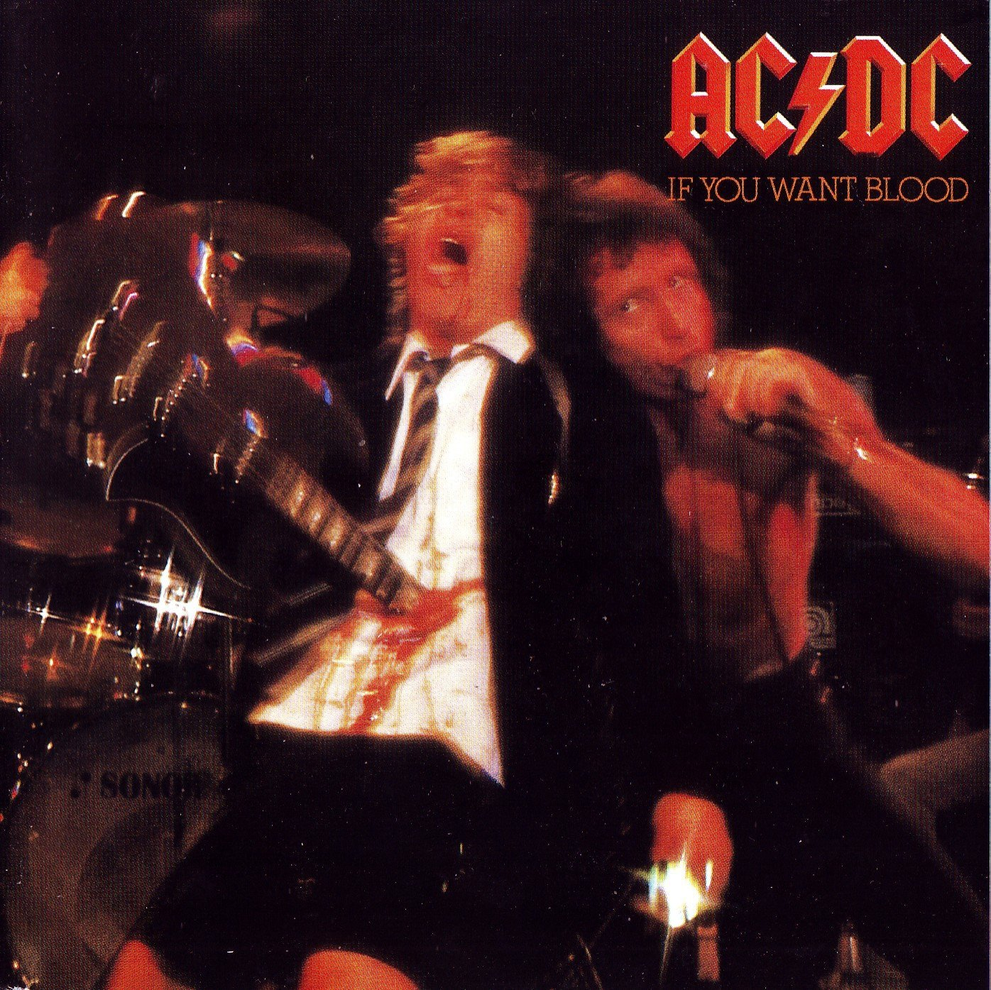 Capa AC/DC If You Want Blood 1992