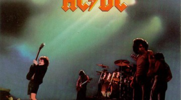 Capa AC/DC Let There Be Rock 1977
