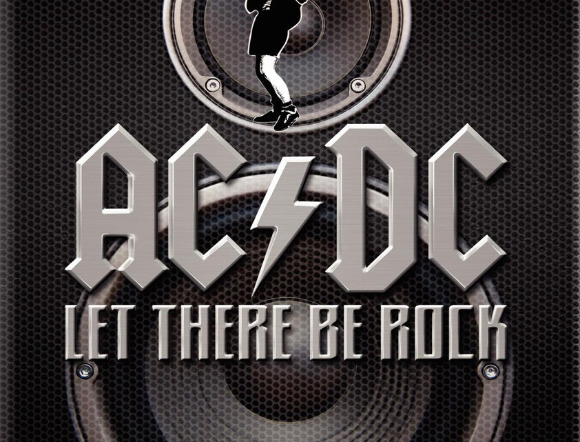Capa Let There Be Rock DVD