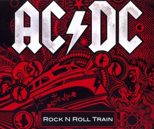 "Single AC/DC - ""Rock n' Roll Train"""