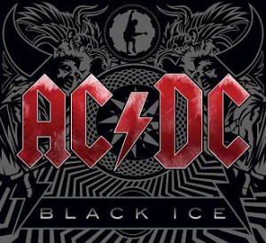 "Capa do álbum ""Black Ice"" do AC/DC de 2008."