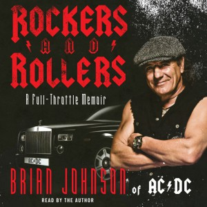 Capa Livro AC/DC - Brian Johnson Rockers and Rollers