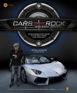 Cars That Rock With Brian Johnson, o livro