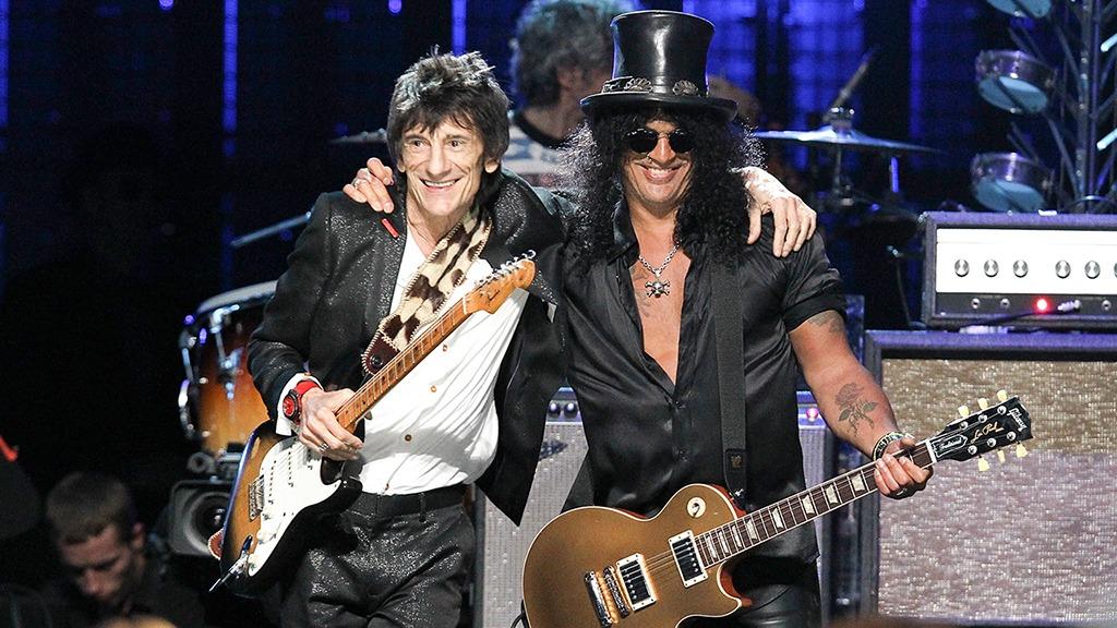 Ronnie Wood e Slash