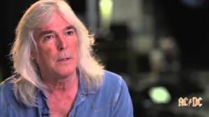 Baixista Cliff Williams. AC/DC. 2016.