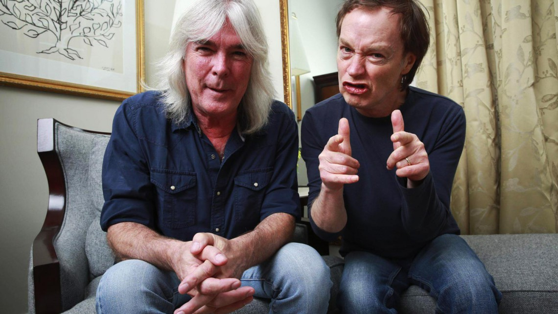 Cliff Williams, Angus Young. Rock or Bust. 2014.