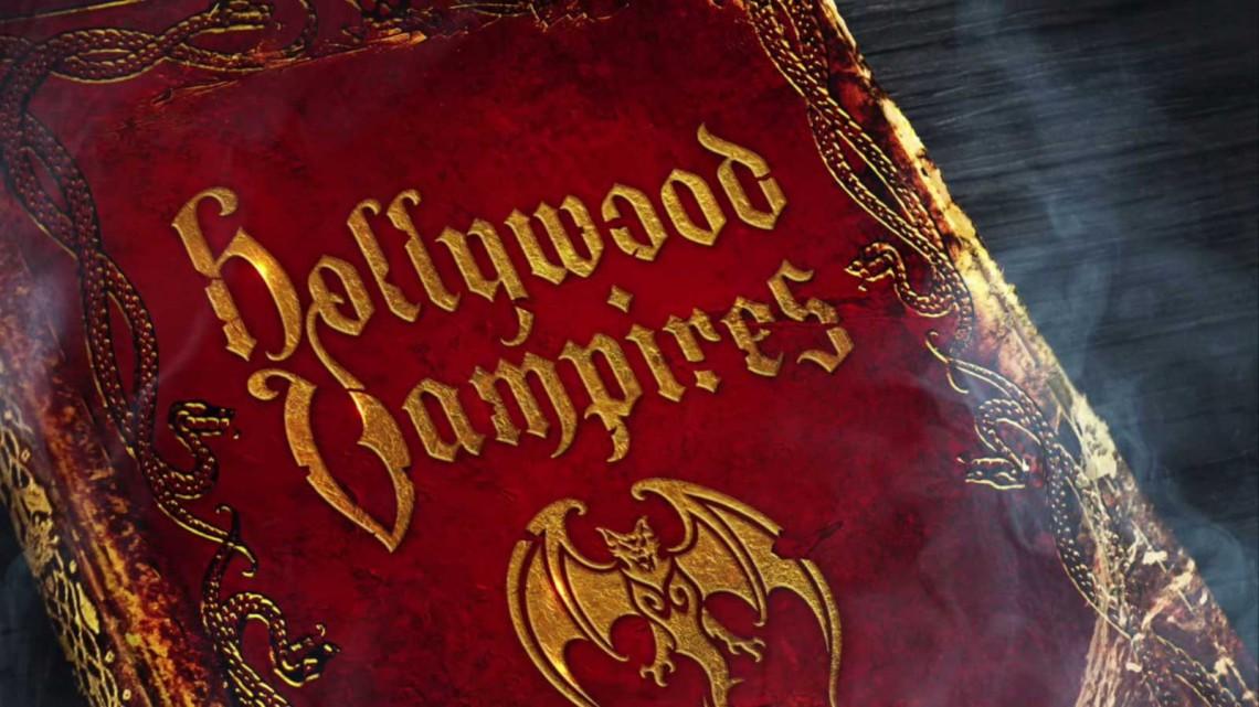 Capa do álbum Hollywood Vampires