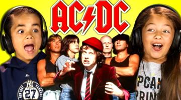 Crianças. AC/DC.