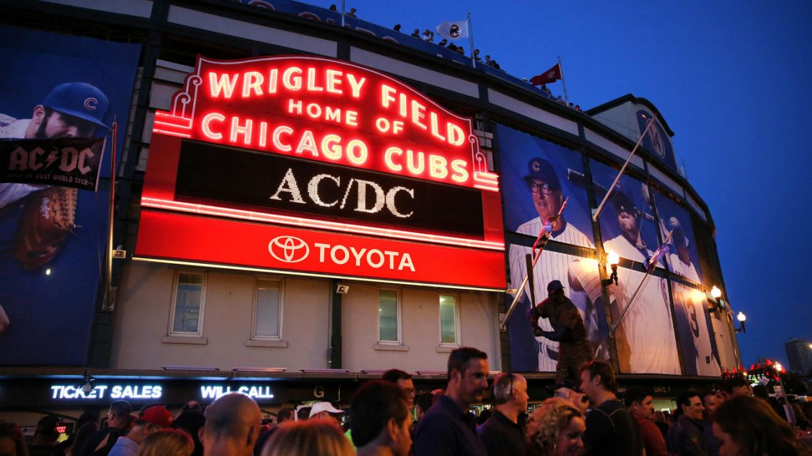 DVD Live at Wrigley Field. AC/DC.
